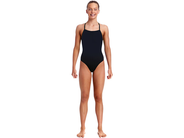 Funkita Strapped In One Piece Swimsuit Mädchen still black solid
